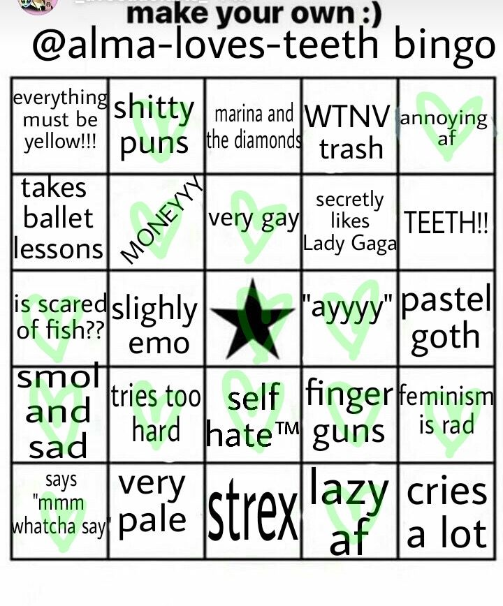 freetoedit bingo - Image by Remi