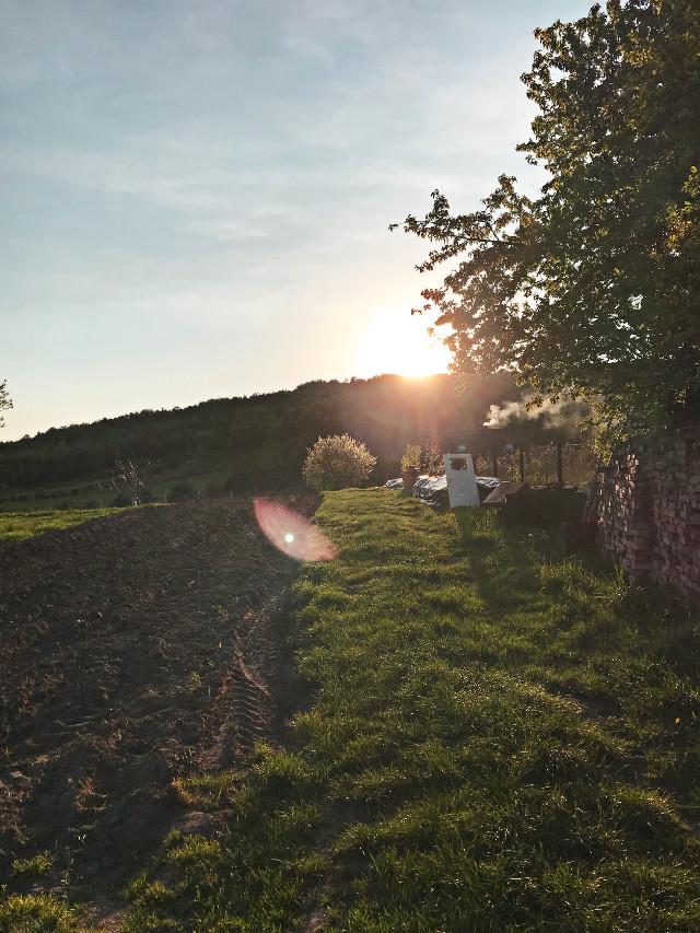 #sunset #poland