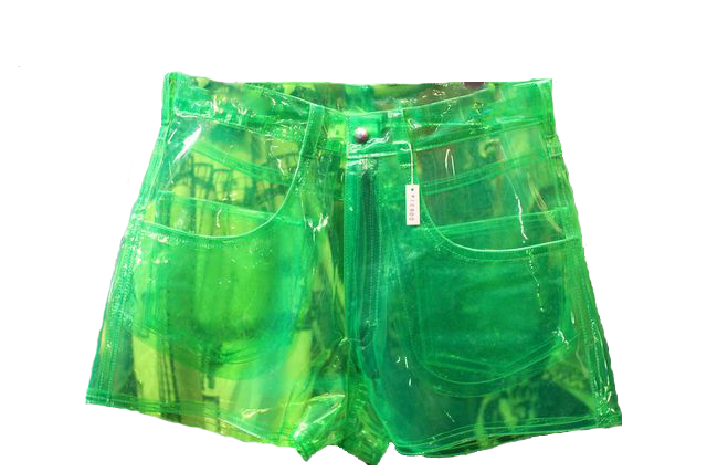 #shorts #clear #neon #green