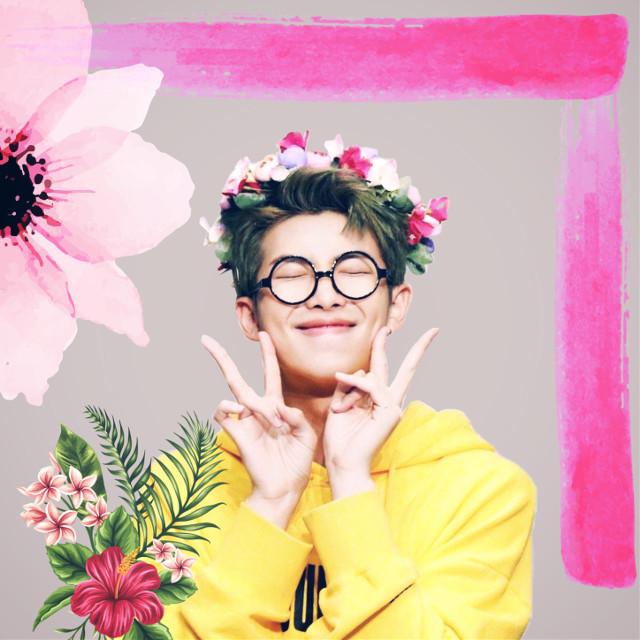 #freetoedit #kpop#korean #pink #flower #art #interesting