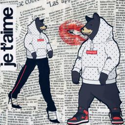 freetoedit love bear inspiration supreme
