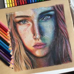 art drawing portrait nofilter