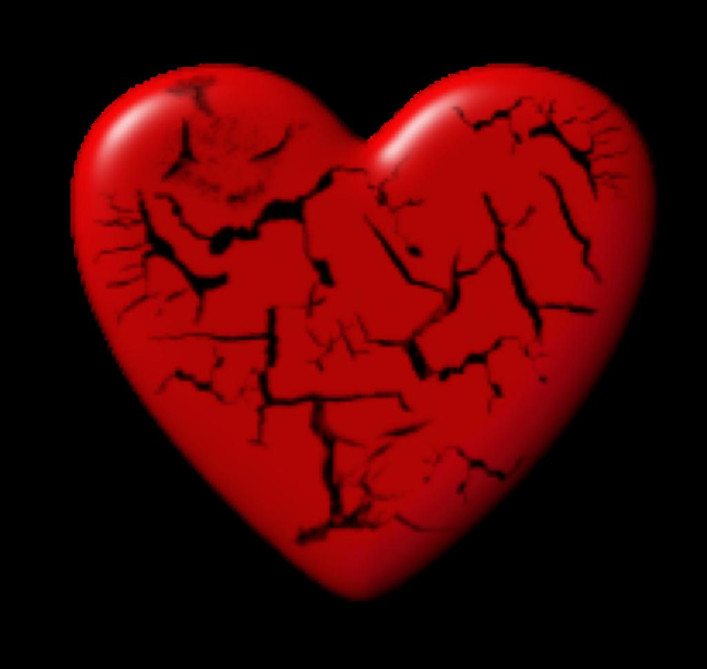 Heart Heartbreak Freetoedit Sticker By Rafaellko
