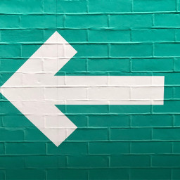 freetoedit arrow symbol colorful wall