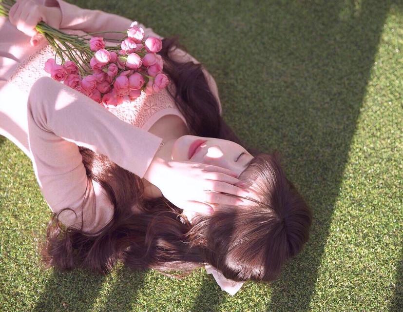 오늘도 내일도 화이띵~! #photography #photographer #vote #model #korean #모델 #한국인 #picsart #freetoedit #flower #girl #pcmondayme #mondayme