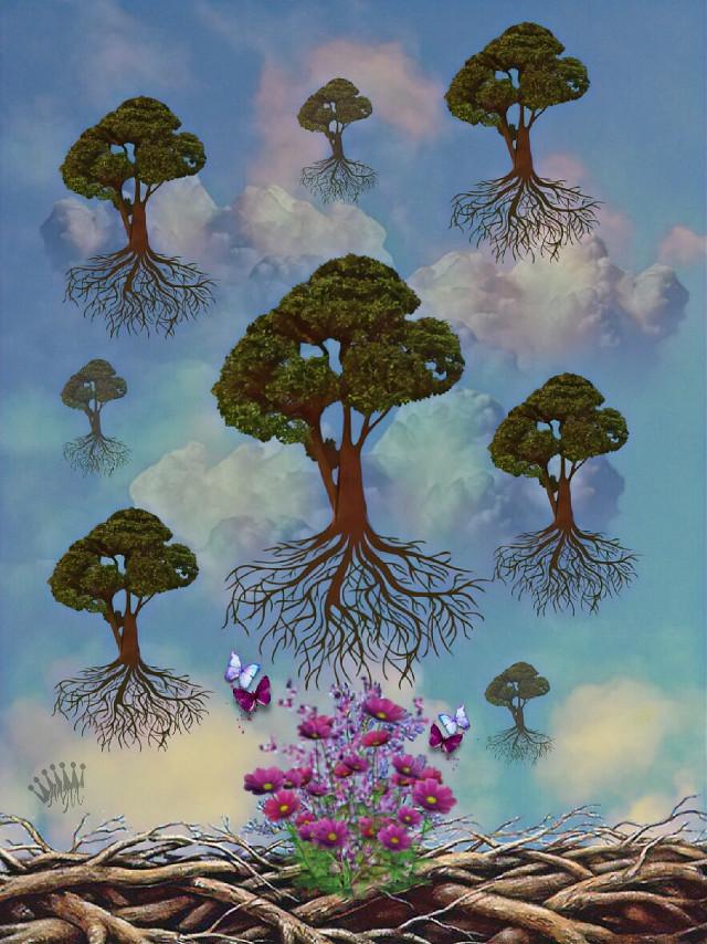 #freetoedit #imagination #surreal #treeoflife #surreal #editedbyme #vipshoutout #art #artistic