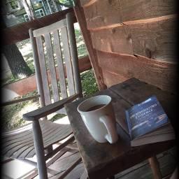freetoedit cabin book rocker porch