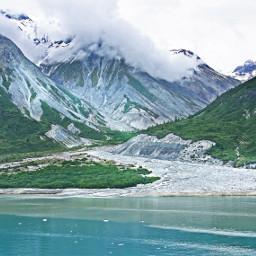 landscape alaska glacier