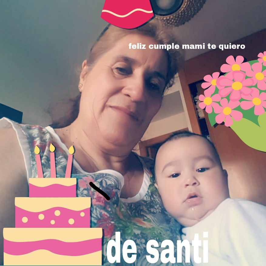 Feliz cuple mami