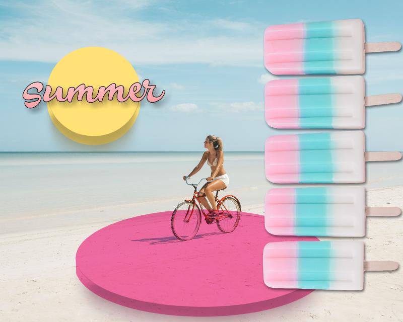 #freetoedit #summer #shapes #popsicle