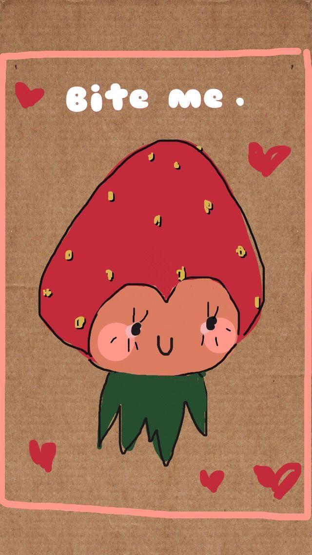 A sassy strawberry