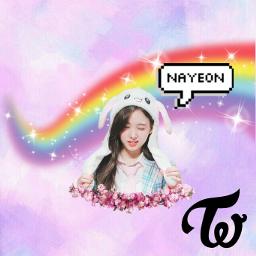 kpop twice nayeon nayeonedit once