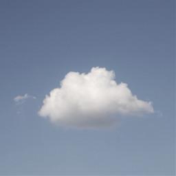 cloud sky blue freetoedit