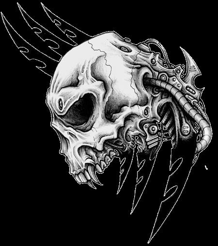 Skulls Skull Tribal Tribaltattoos Tattoos