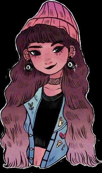 #rikkisgirl #Procrastiartist #girl #kawaii #kawaiigirl #anime #animegirl #manga #drawing #girldrawing #mangagirl #cute #cutegirl #character #aesthetic #magic8ball #beanie #jeansjacket #pink #pinkhair #freetoedit