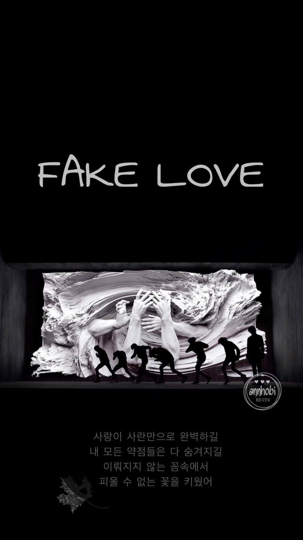 Fake Love Wallpaper 2 Freetoedit Bts Bangtanboys Bangta