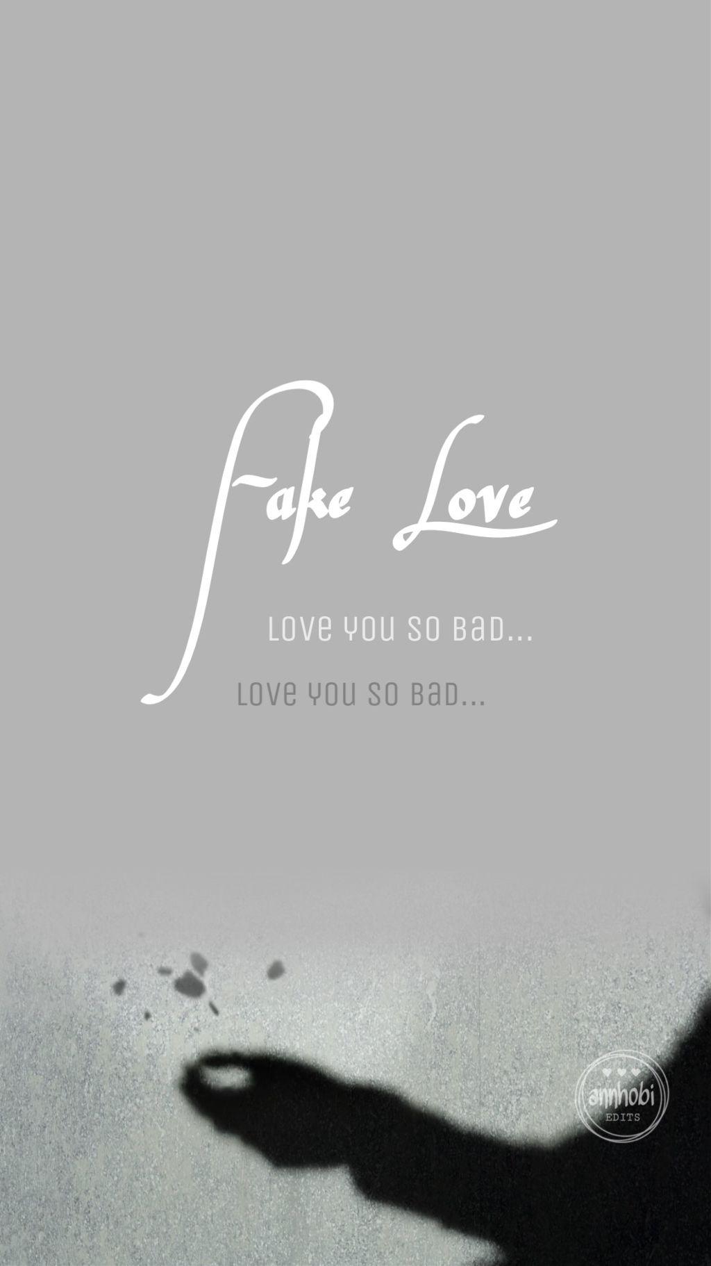 Fake Love Wallpaper 3 Freetoedit Bts Bangtanboys Bangta