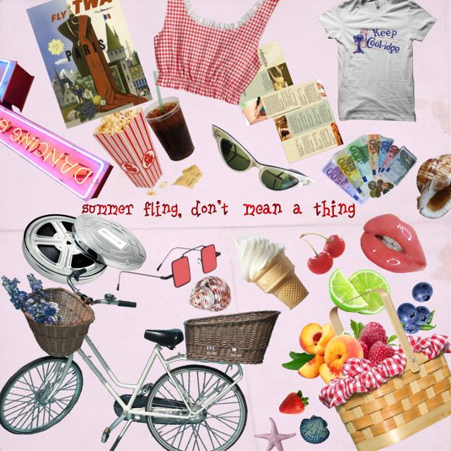"summer moodboard - candy love - ""summer nights"""