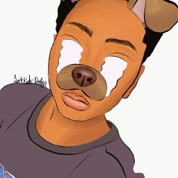 freetoedit interesting art dogfilter filter