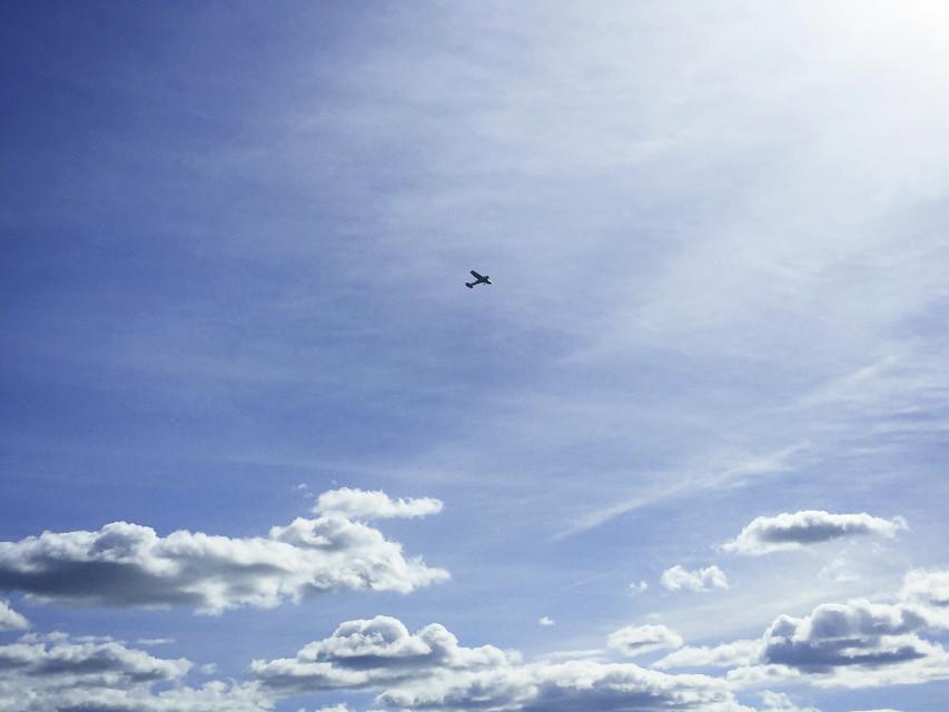 #pcsky #sky #clouds #plane #intheair