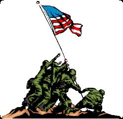 iwojimamemorial memorialday monument soldiers flag