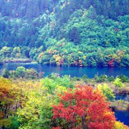 lake tibetanareainchina landscape autumn