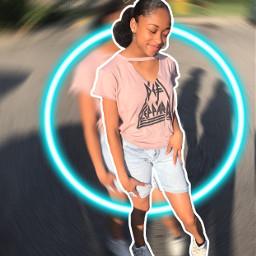 art digitalart blureffects neonstickers crown freetoedit