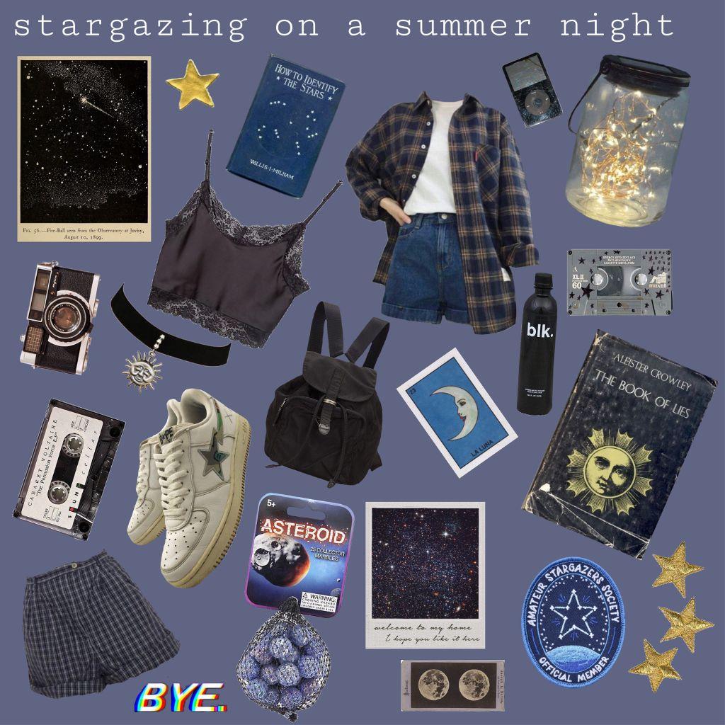 #freetoedit #interesting #art #sky #summer #photography #aesthetic #moodboard #navyblue #stars #star #stargazing #night