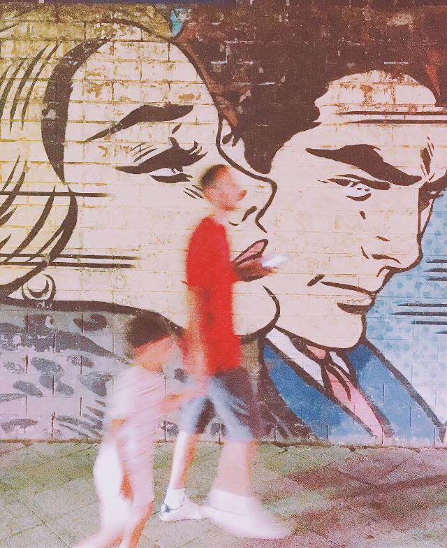 #freetoedit #streetart #popart #RoyLichtenstein #batumi #georgia #streetphotography #art #vacation #travel #artwork #shotoniphone