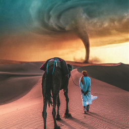madewithpicsart edited tornado adventure
