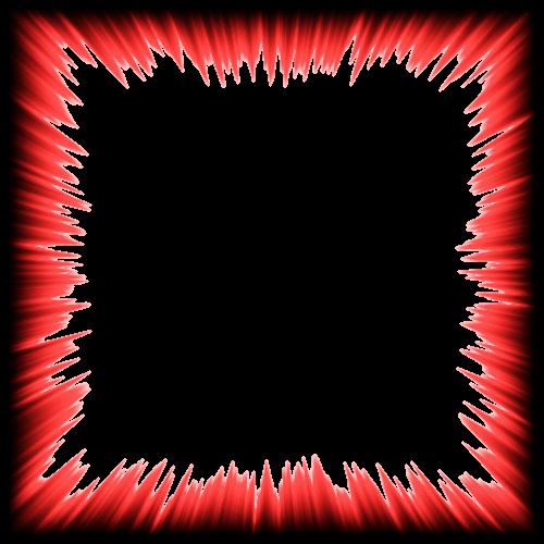borders border frames frame redandblack black red exp...