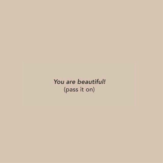 You're #beautiful ✨ #freetoedit