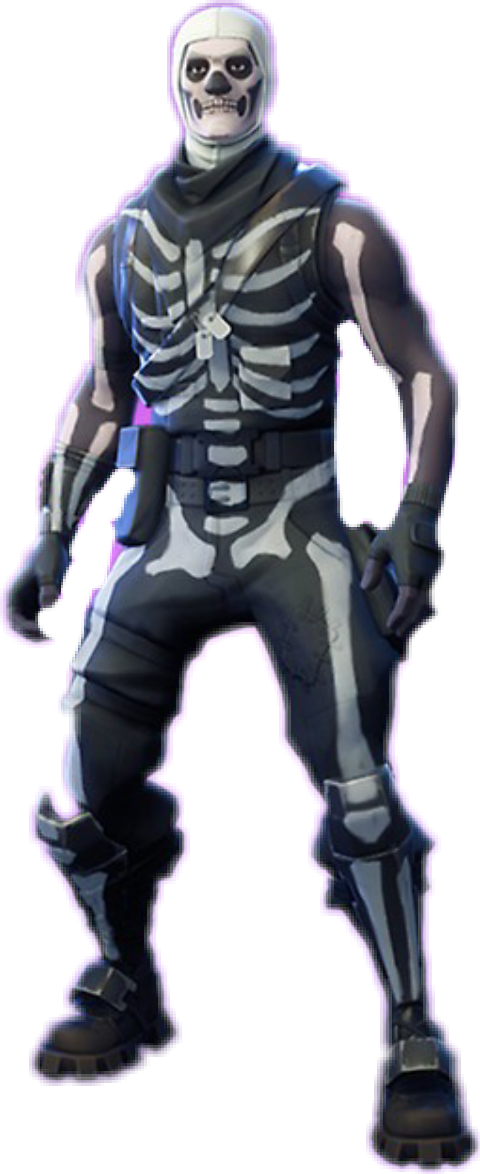 Skull Trooper Fortnite Skin Sticker By Matthias Wi