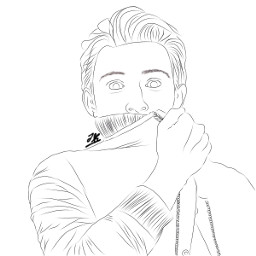 freetoedit tomholland drawing portrait spiderman