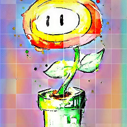 freetoedit offgrideffect offgrid flower mario ecoffgrideffect