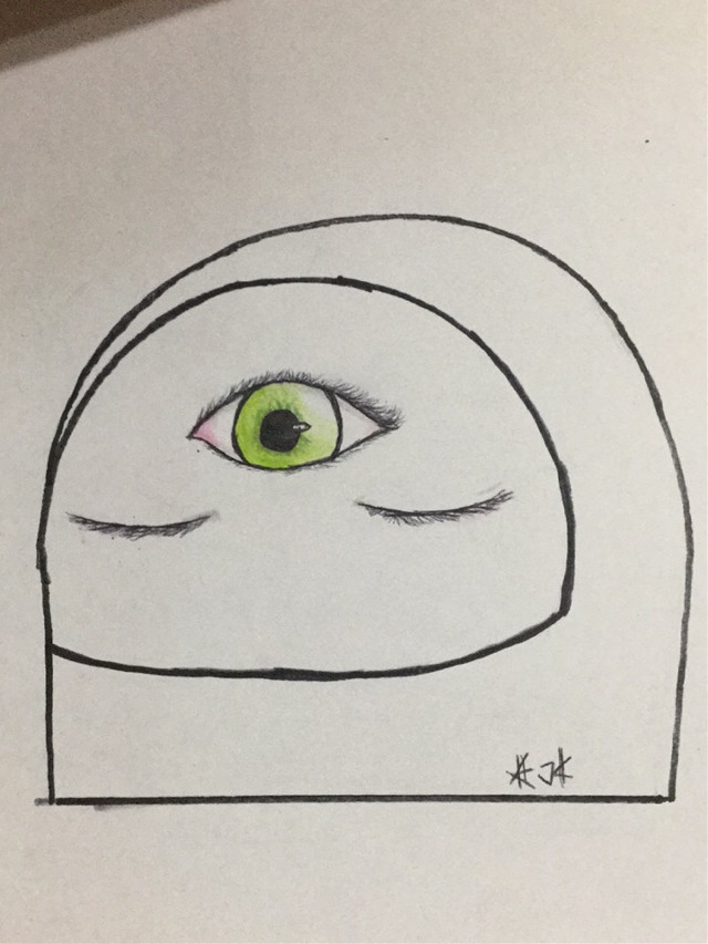 School doodle  DONT STEAL   #astronaut #thirdeye #eyes #helmet #katokachan #kato #katokateam