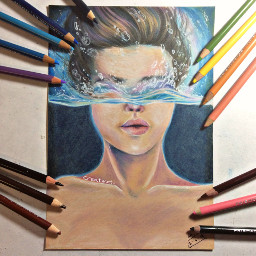 art drawing water original noreference
