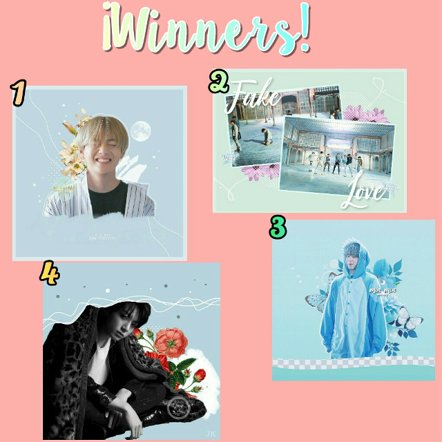 WINNERS OF THE CONTEST! ⬇ READ BELOW⬇  Hi! ❤ Excuse me for not having edits up 😔💕   Thank you all for participating in my contest, thank you! 💫 ♥  These are the winners 💙               <@hobis-world >              <@jiminies_jams               <@_min_min_               <@hope_033 >         1 Winner: 1 edit        of what you want, 2         repost, a         sticker of what         want also          2 Winner: 1 edit        of what you want, 1        sticker of what          want and 1           repost         3 winner: 1 edit of         whatever you want, 1        sticker        of what you want, and 1        repost        4 winner: 1 sticker     of what you want and     1 repost         Thanks for participating     Winners! 💫💕 Very    beautiful your edits💙  And thanks to those who also participated, they did a great job and it was difficult to decide 😅☺💖    ~Español~   GANADORAS DEL CONTEST! ⬇ LEER ABAJO⬇  Hola!❤ disculpen por ni haber subido edits 😔💕   Gracias a todos por haber participado en mi contest,gracias!💫♥  Estas son las ganadoras 💙             < @hobis-world >             <@jiminies_jams              <@_min_min_ >             <@hope_033 >                     1 Ganadora: 1 edit        del lo que quiera,2         repost, un         sticker de lo que         quiera también         2 Ganadora:1 edit        de lo que quiera ,1       sticker de lo que          quiera y 1          repost        3 ganadora: 1 edit de         lo que quiera,1        sticker        de lo que quiera, y 1        repost       4 ganadora: 1 sticker     de lo que quiera y     1 repost        Gracias por participar     ganadoras!💫💕  Muy    hermosos sus edits💙  Y gracias a los que también participaron hicieron un gran trabajo y fue difícil decidir 😅☺💖 #freetoedit