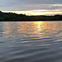 freetoedit sunset ripples