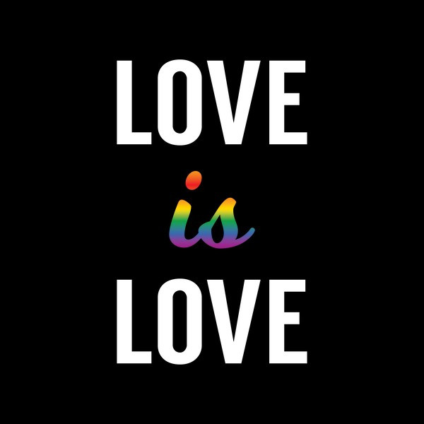 LOVE IS LOVE Just be who you are and love whatever and whomever you want! Happy Pride Month 🏳️‍🌈 I always support LGBT community and I'll always will. . . #pridemonth #pride#lgbt#loveislove #rainbow#gay#lesbian#nogenderrules  . . #miniTfam♥️#fozirshifam 🖤
