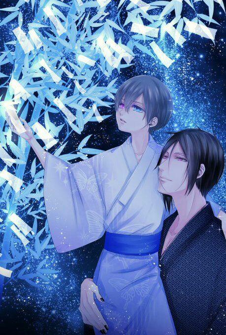 #BlackButler #Ciel #Phatomhive #Kawaii #Sebastian #Michaelis #Demon #Anime #Kuroshitsuji