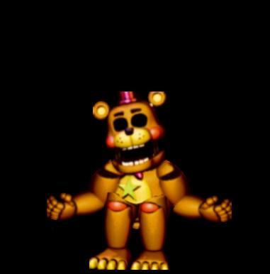 Rockstar Golden Freddy (FNAF 6 fan-made)