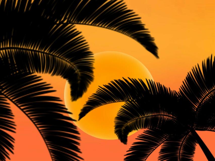 #sunset #eveningsky #orangeskyremix  #freetoedit
