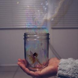 freetoedit art artwork jar faerie