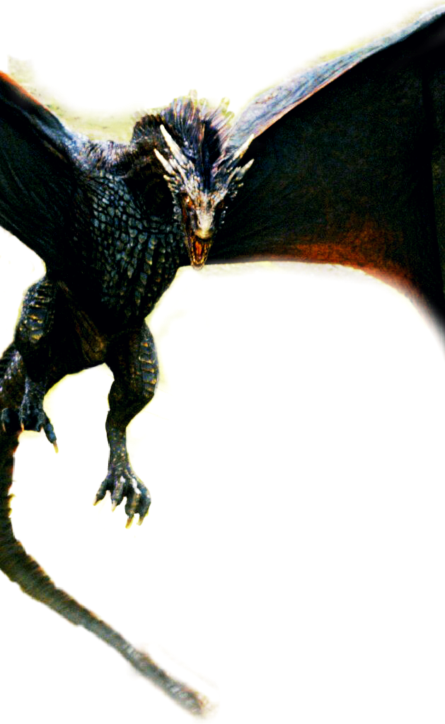drogon dragon - Sticker by Fangirl Forever