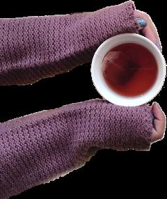 sctea tea sweater hands sticker freetoedit