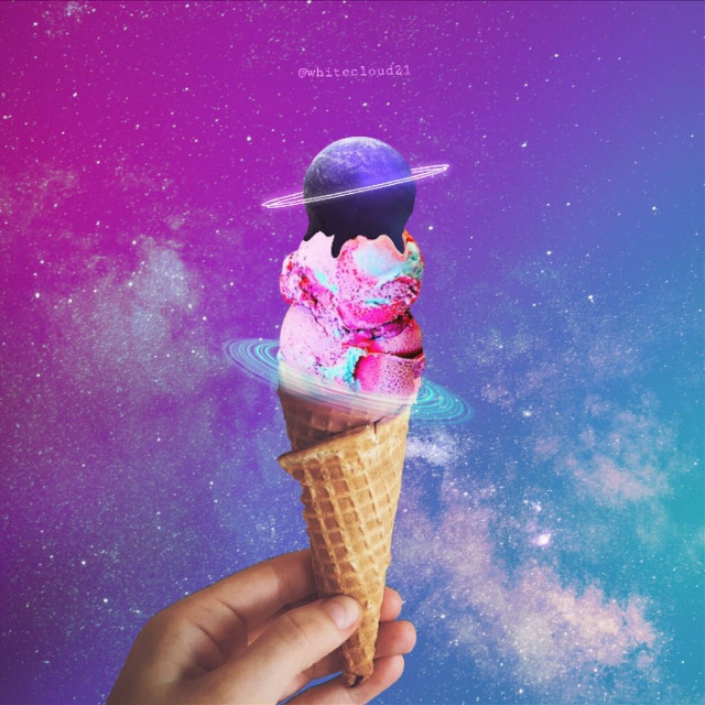 Oh, the magic of ice cream! Thank you @whitecloud21 for editing the pic by @andreeamaria6 . Get in the spirit of editing or uploading your own summer dessert pic! #IceCream #IceCreamCone #FreeToEdit