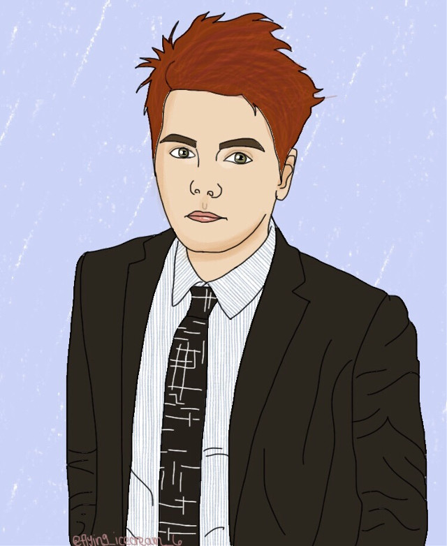 LAST DAY OF SCHOOL!! who is exited?! I have not done a gerard way fan art for awhile so here it is!! #art #digitalart #digitaldrawing #drawing #gerardway #mychemicalromance #mychemicalromanceart #music #musician #singer #freetoedit