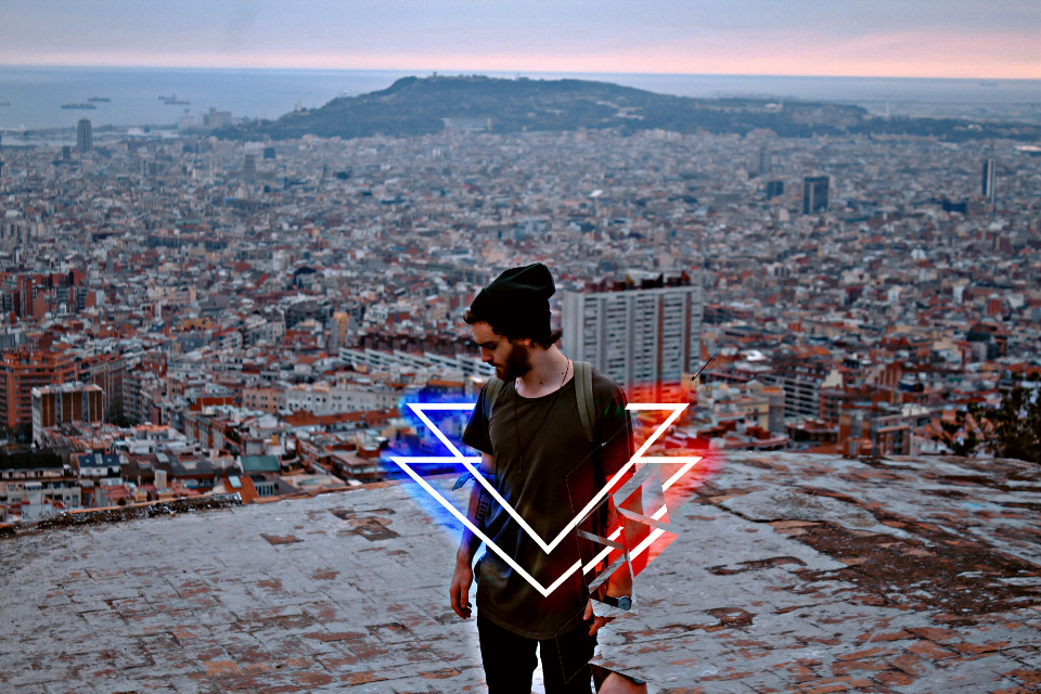 #freetoedit  #remixit #light #lazers #city #height #triangles