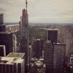 newyorkcity topoftherock skyscraper